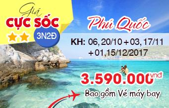 Chùm tour Phú Quốc