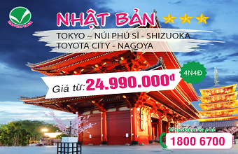 Tour Nhat Ban