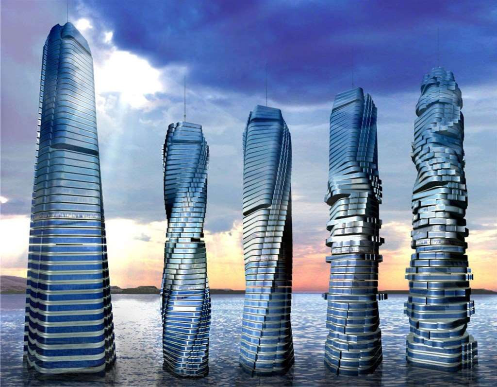Các công trình kiến trúc tại Dubai vô cùng độc đáo - Ảnh 1