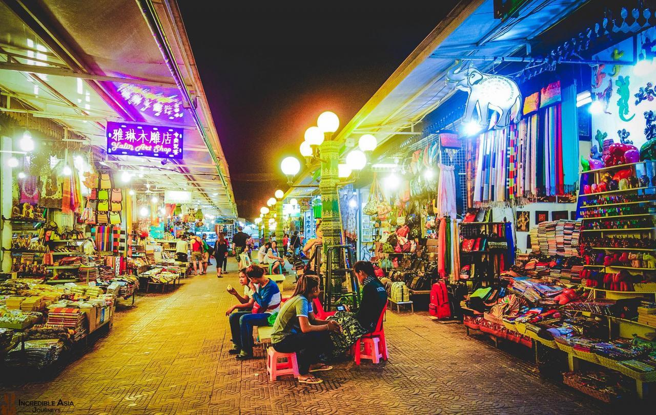 Khám phá một số điểmmua sắm ở Campuchia - Ảnh 1