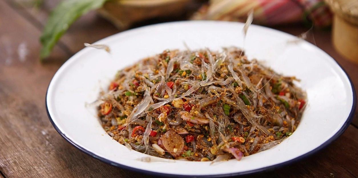 Goong Ten - ẩm thực thách thức sự can đảm khách đến Thái Lan - ảnh 1