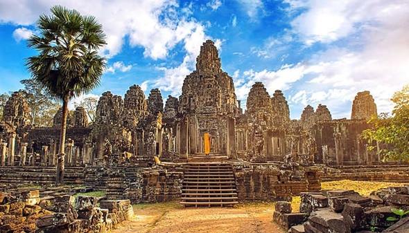 Check in địa danh có nét đẹp huyền bí cùng kiến trúc độc đáo ở ngôi đền Bayon - ảnh 1