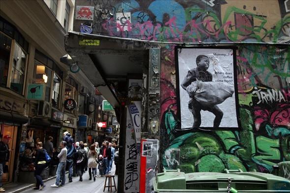 Khám phá bảo tàng nghệ thuật ngoài trời Graffiti tại Melbourne - ảnh 1