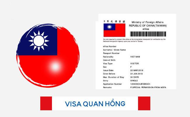 Những bước xin visa du lịch Đài Loan nhanh nhất - ảnh 1