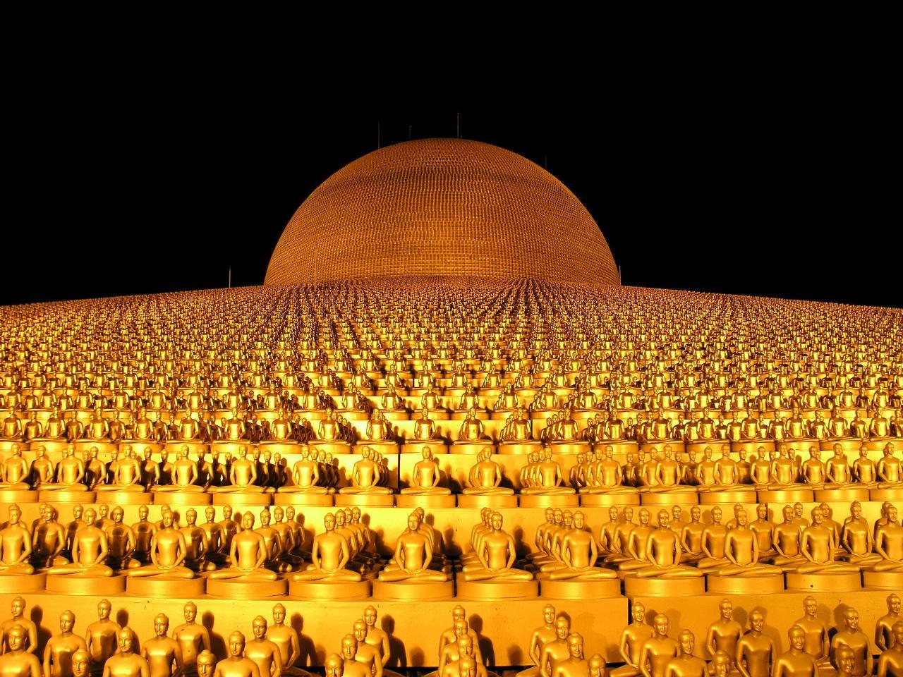 Wat Dhammakaya – ngôi chùa nổi tiếng nhất Thái Lan - ảnh 1